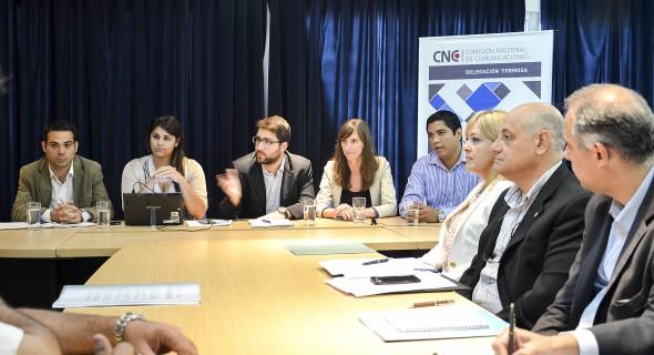 Reunión en Bariloche y Formosa por instalación de antenas para celulares