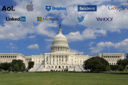 Importantes empresas de Internet exigen una ley que limite el espionaje