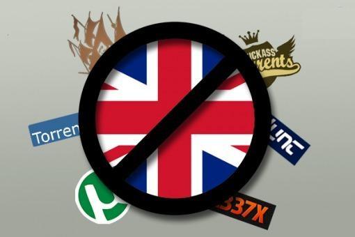 Reino Unido obliga el bloqueo a otros 32 sitios de BitTorrent