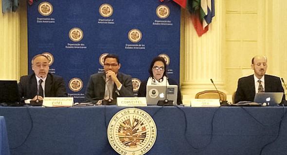 Argentina participó en Washington de la reunión de la CITEL