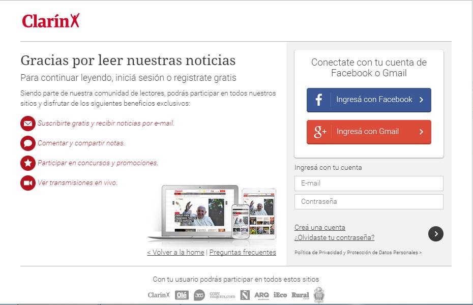 Clarín y La Nación podrían ofrecer un modelo pago de suscripción