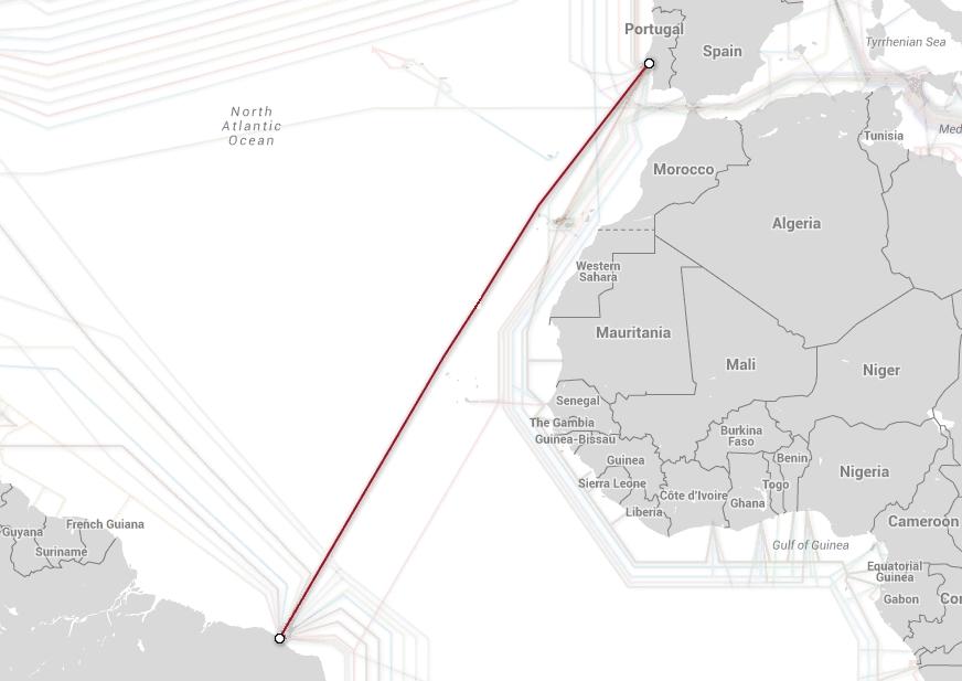 Brasil está desarrollando su propio cable submarino
