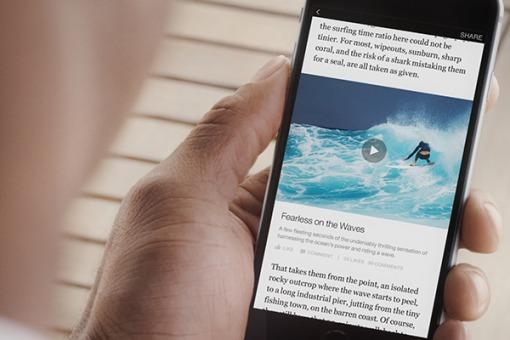 Facebook se asocia con nueve medios para que publiquen noticias instantáneamente en la red social