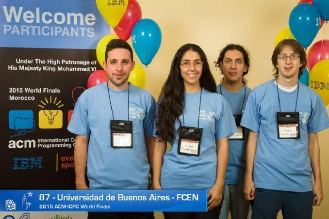 Estudiantes de la UBA lograron el puesto 18 en el Mundial de Programación