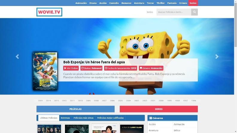 Wovie.tv, un nuevo sitio para ver películas y series