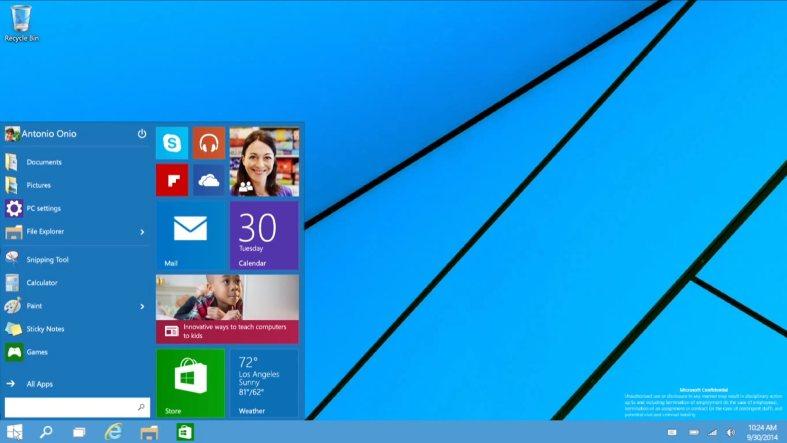 Las novedades del nuevo sistema operativo de Microsoft