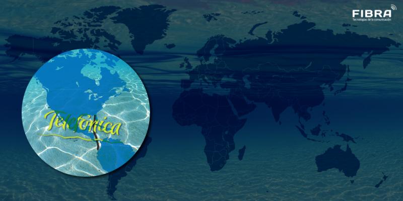 Telefónica construirá un cable submarino para reforzar la red en América