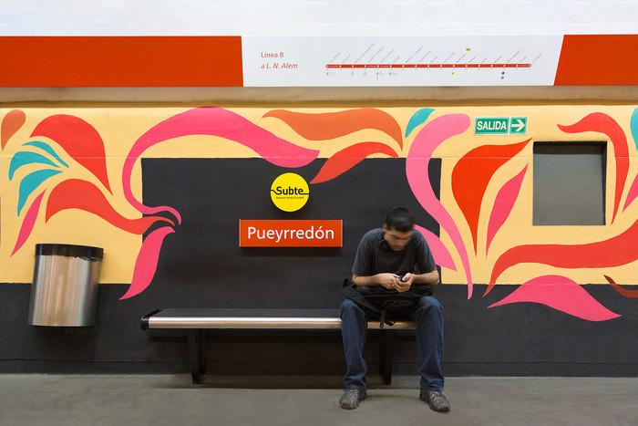 Movistar habilita tecnología 4G en algunas estaciones de subte