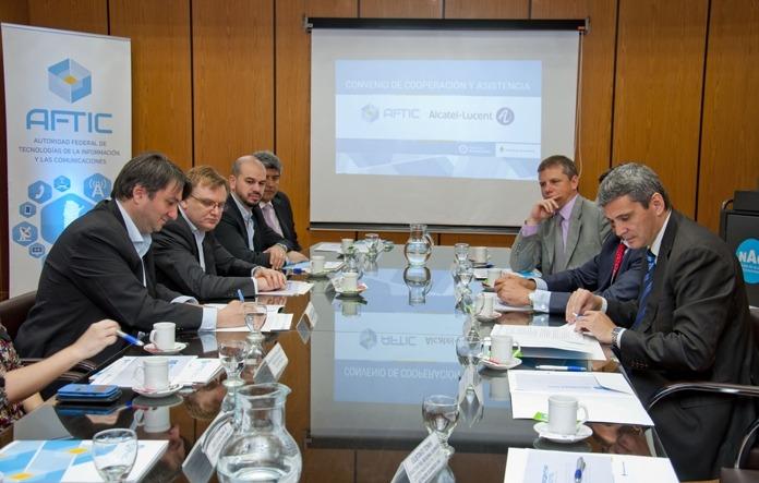 AFTIC firmó un nuevo convenio de cooperación tecnológica