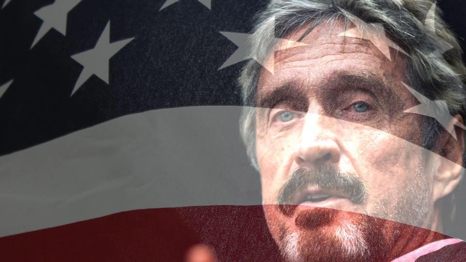 John McAfee será candidato a presidente