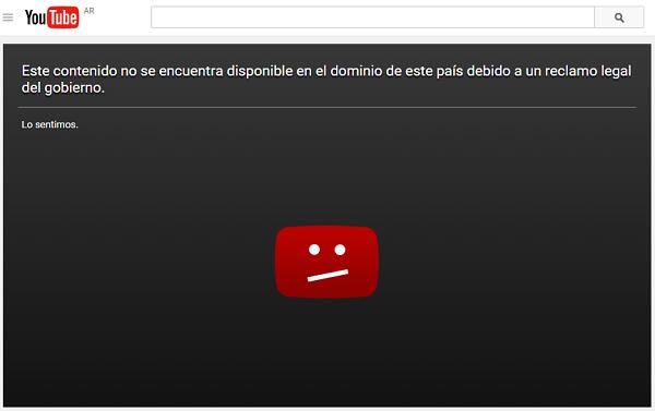 Google y Youtube accedieron a un pedido de la Defensoría y borraron contenidos