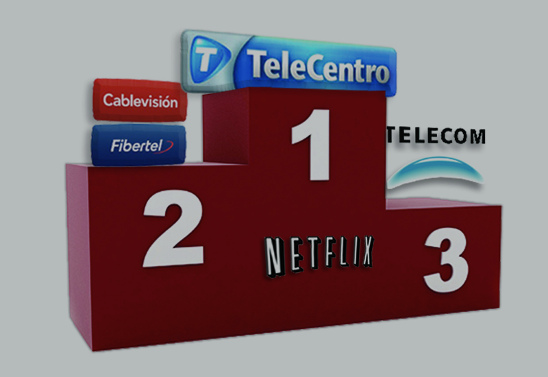 Ranking Netflix ISP: Telecentro sigue siendo el mejor proveedor en Argentina y tercero en Sudamérica