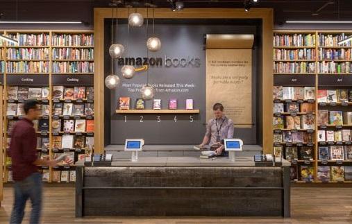 Hoy abre sus puertas la primera librería de Amazon