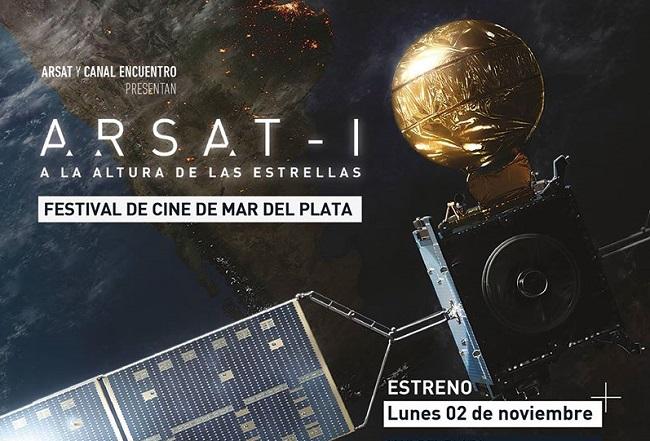 Hoy se estrena el documental sobre el satélite ARSAT-1
