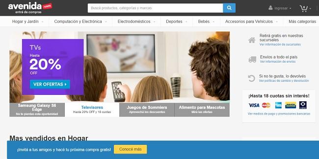 El sitio Avenida.com recibe U$S 30 millones de inversión