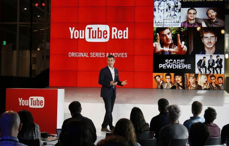 YouTube ofrecería películas y series originales a sus usuarios premium