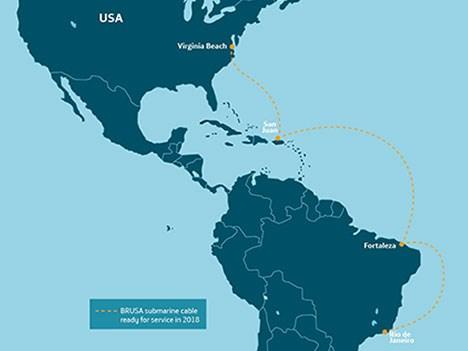 Telefónica despliega nuevo cable submarino para unir Brasil y Estados Unidos