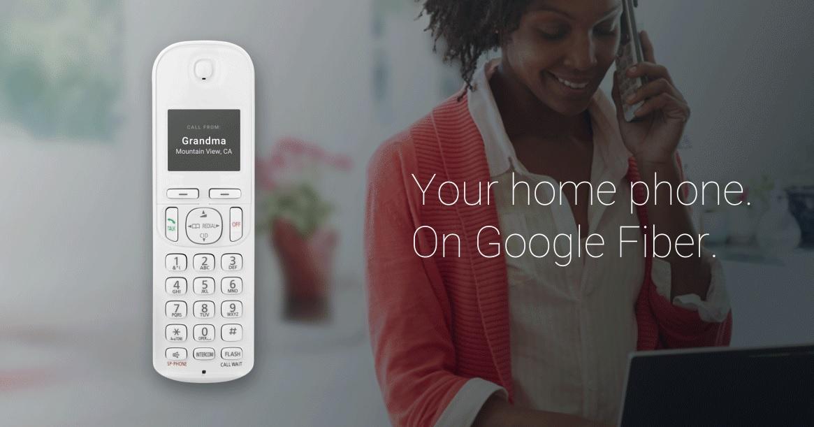 Google lanzá Fiber Phone