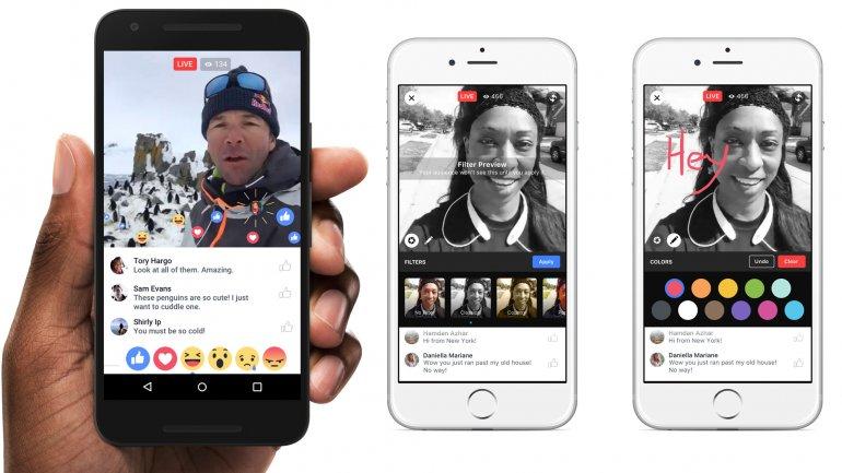 Comenzó a funcionar Facebook Live a nivel mundial