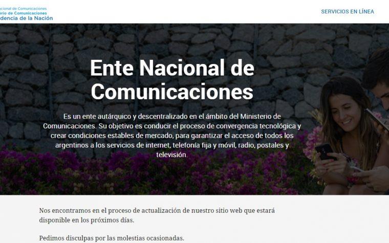 Se oficializó la Comisión para la elaboración del Proyecto de ley de Telecomunicaciones
