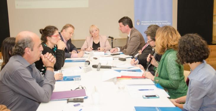 Se realizó una nueva reunión por la Ley de Comunicaciones