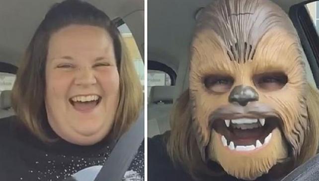 La 'mamá Chewbacca' el video más visto de la historia de Facebook