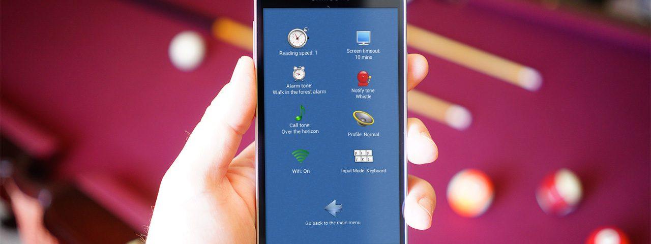 Blind Communicator: la App para que personas no videntes puedan usar smartphones