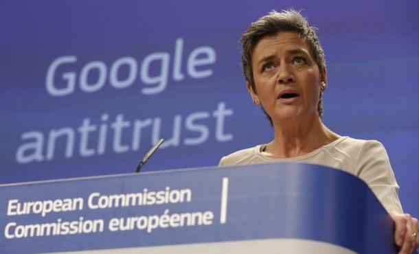 La Comisión Europea realiza nueva denuncia a Google por abuso de posición dominante