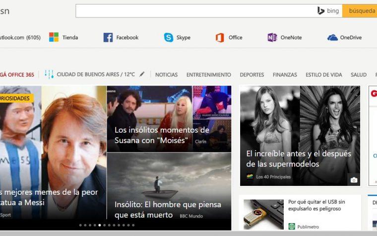 MSN.com: estrategias digitales para atraer y retener a los usuarios