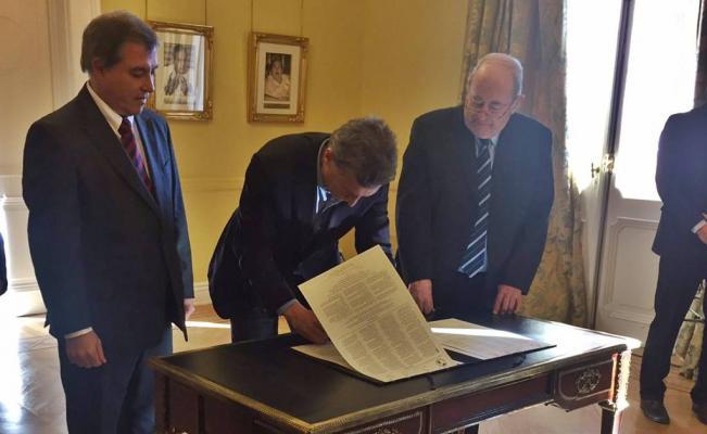 Macri firmó la declaración de Chapultepec sobre la defensa de libertad de expresión