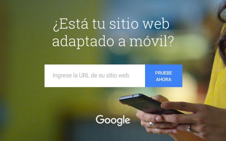 Google lanza herramienta para verificar si un sitio web esta optimizado para dispositivos móviles