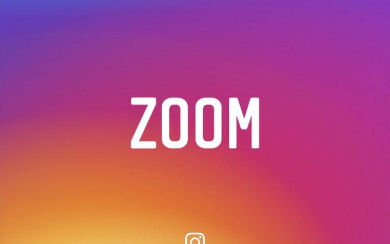 "El ""zoom"" llega a Instagram"