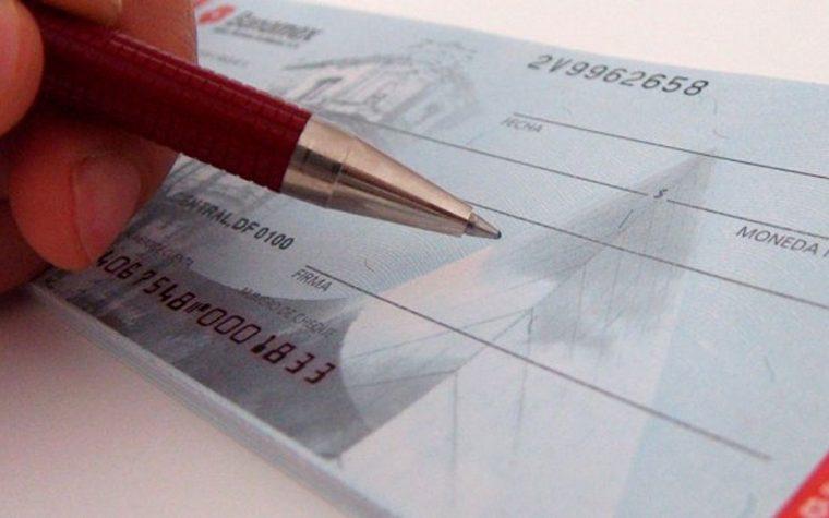 Los cheques podrán depositarse por celular