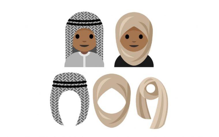 Adolescente árabe pide emojis de caras con velos y turbantes