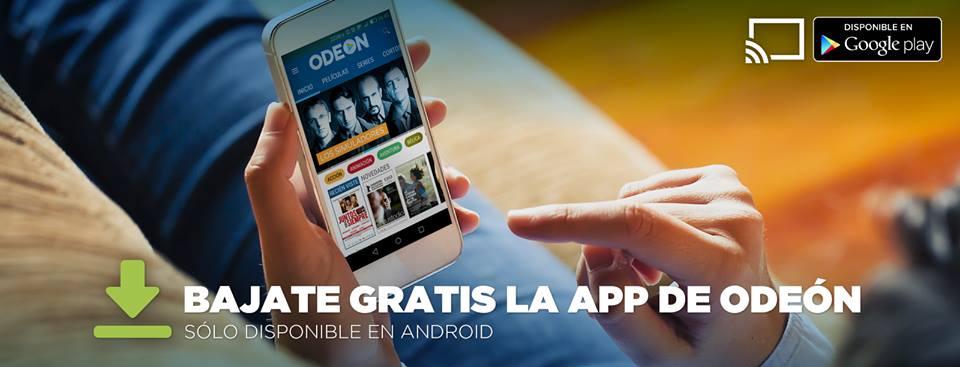 Odeón ya tiene aplicación para Android