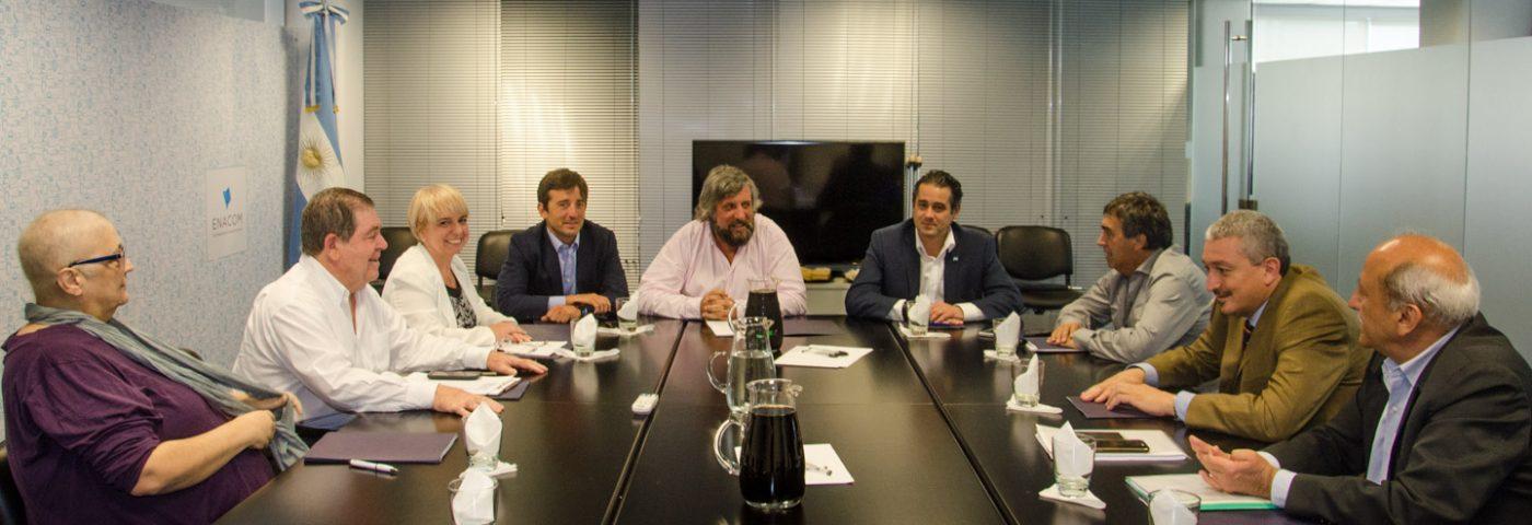 Se reunió el directorio del ENACOM