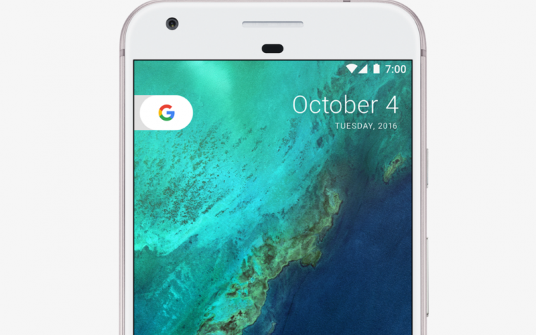 Google presentó Pixel, el smartphone que compite con el I phone 7