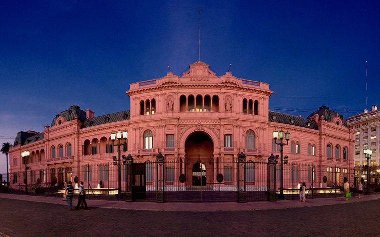 Se puede conocer la Casa Rosada por internet