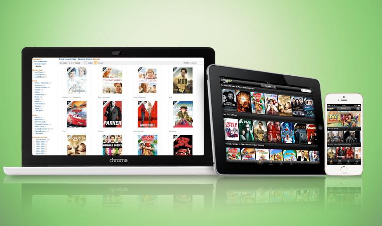 Llega al país el servicio de streaming de series y películas de Amazon