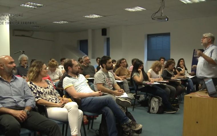 Se realizó el Seminario de Narrativas Transmedia de la UNTREF