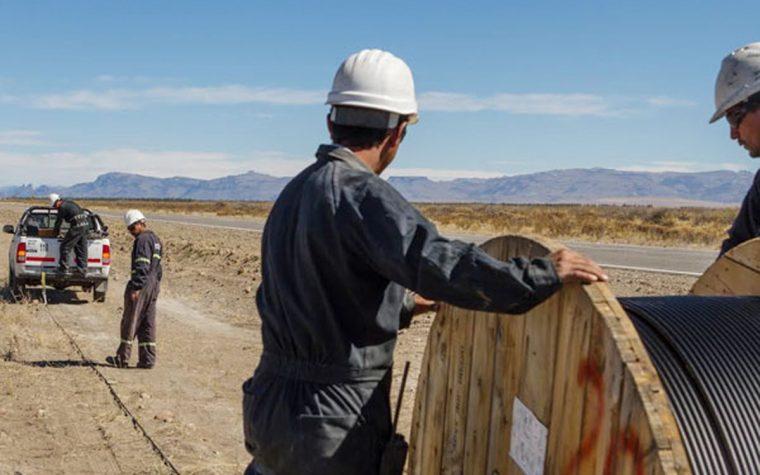 Arsat sumó 1395 kilómetros al tendido de fibra óptica
