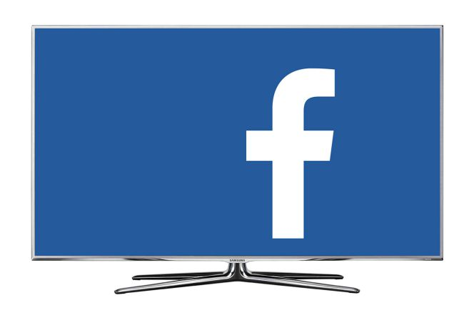 Facebook desarrollará aplicación para televisores inteligentes