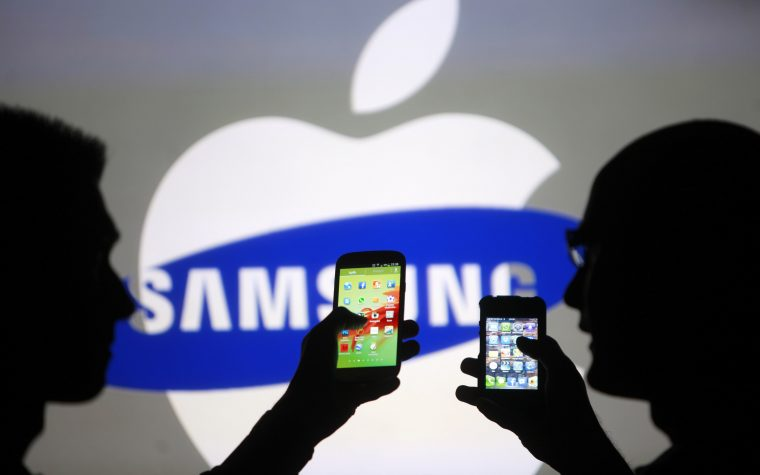 Apple supera ventas de Samsung