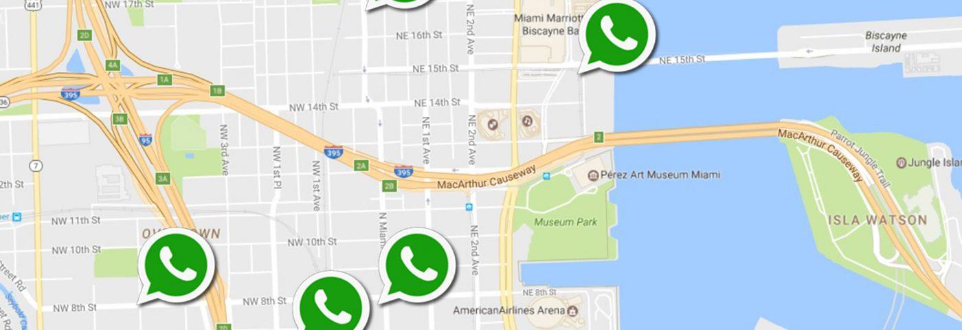 Así funcionará la ubicación en tiempo real de WhatsApp
