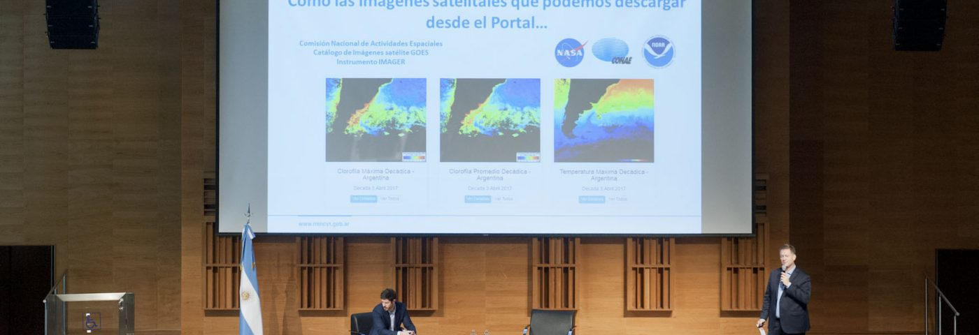 Lanzan portal que reúne artículos científicos, imágenes satelitales y estadísticas nacionales