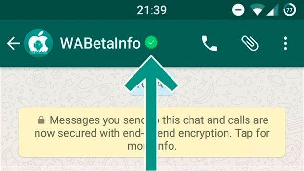 Whatsapp empieza a verificar cuentas de empresas