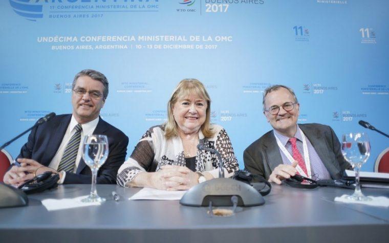 Terminó la cumbre de la OMC sin acuerdo en los ejes principales
