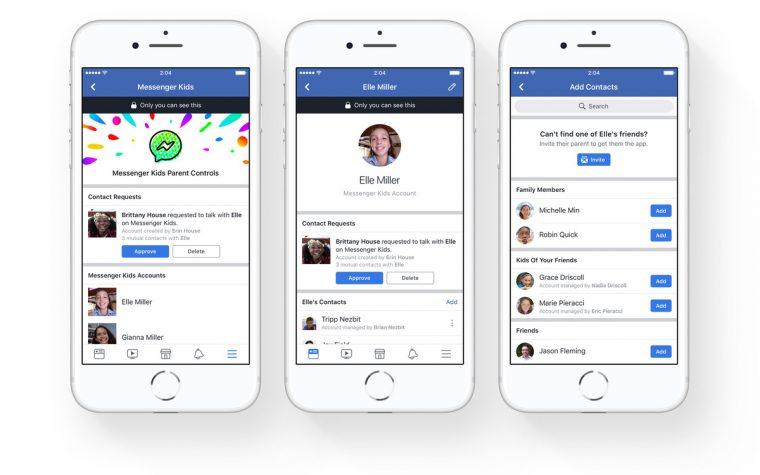 Facebook lanzará una versión de messenger para menores de 13 años